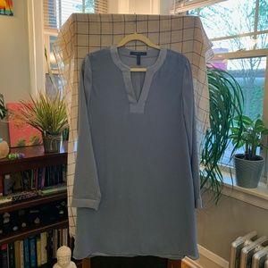Beautiful BCBG blue gown dress